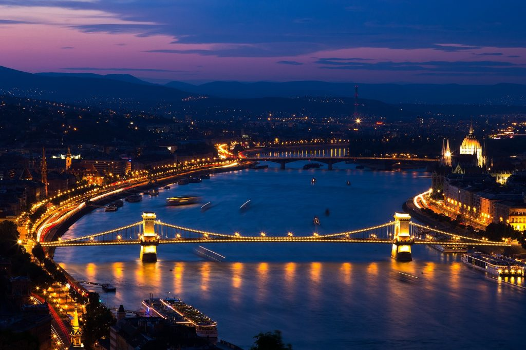 Budapest Danube: slow moving, like Blood stasis