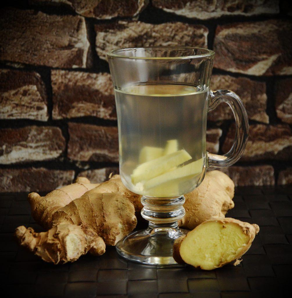 Ginger tea, a great way to help your digestion to reduce yang deficiency which may reduce fatigue!