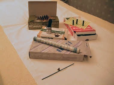 Moxibustion Rolls and tools