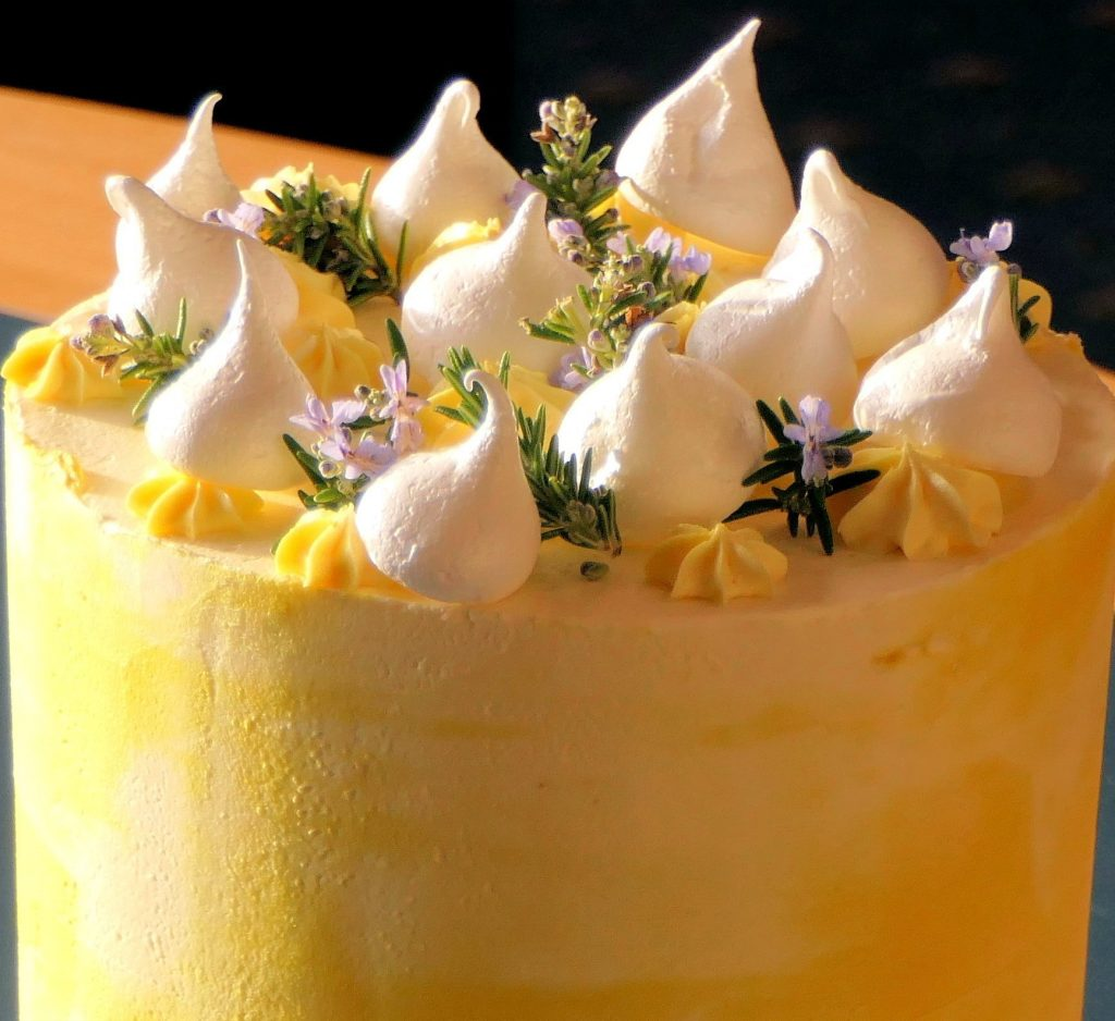 Yellow Cake, the kind that leads to Stomach Damp-Heat!