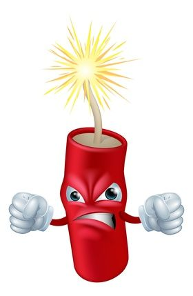 Fire cracker - what Liver Blood stasis can feel like