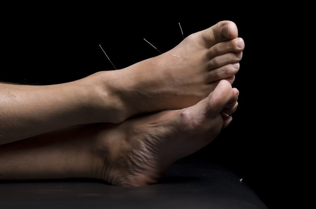 Foot points often used for depression